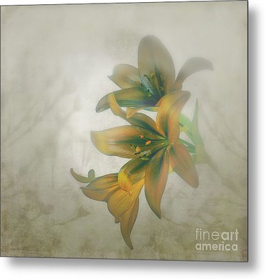 Soft And Sweet Metal Print by Shirley Mangini