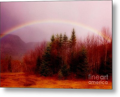 Soft Cape Breton Rainbow Metal Print by John Malone