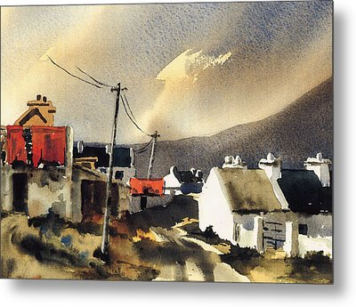 Soft Day In Achill Mayo Metal Print