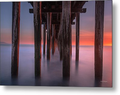 Soft Light From Starboard Metal Print