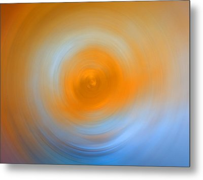 Soft Sunrise - Energy Art By Sharon Cummings Metal Print