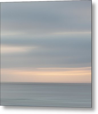 Soft Sunset La Jolla Metal Print by Carol Leigh