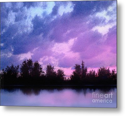 Soft Waters Metal Print by Robert Foster