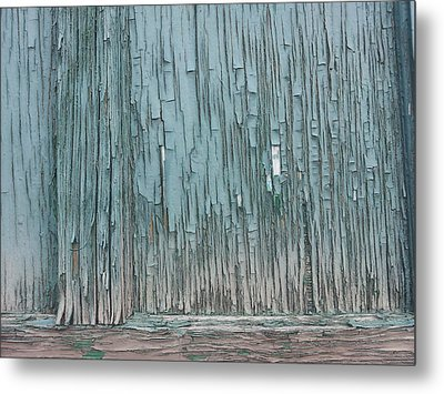 Soft Wood Metal Print