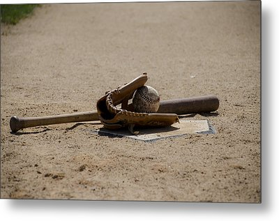 Softball Metal Print by Bill Cannon