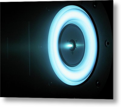 Solar-electric Propulsion Thruster Metal Print by Nasa/jpl-caltech
