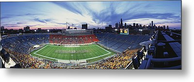 Soldier Field Football, Chicago Metal Print