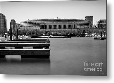 Soldier Field Marina Metal Print by F Icarus