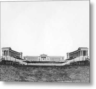 Soldiers' Field And Museum Metal Print