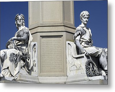 Soldiers Monument Detail Metal Print by Paul W Faust -  Impressions of Light