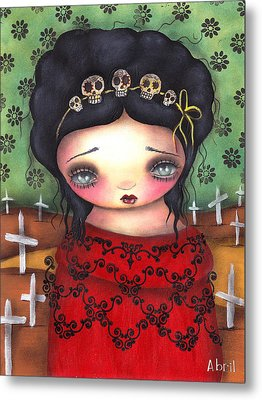 Soledad Metal Print by  Abril Andrade Griffith