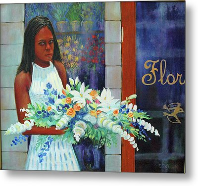 Metal Print featuring the painting Solemn Occasion by Dwain Ray