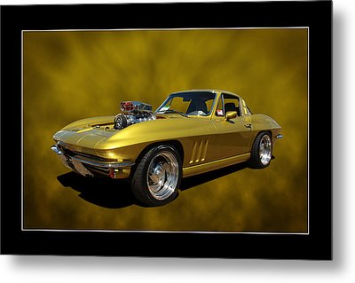 Metal Print featuring the photograph Solid Gold by Keith Hawley