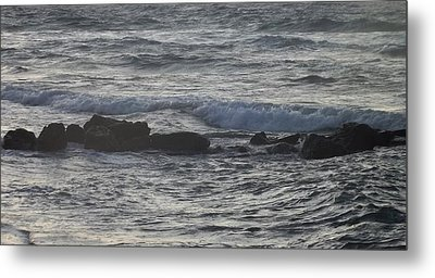 Metal Print featuring the photograph Solids And Liquid by Diane Miller