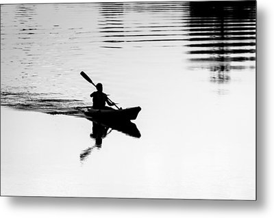 Metal Print featuring the photograph Solitary by Edgar Laureano
