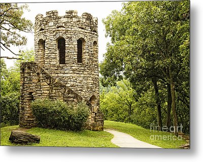 Metal Print featuring the photograph Solitary Stone Tower by Lincoln Rogers