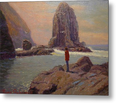 Solitude Cannibal Bay Metal Print