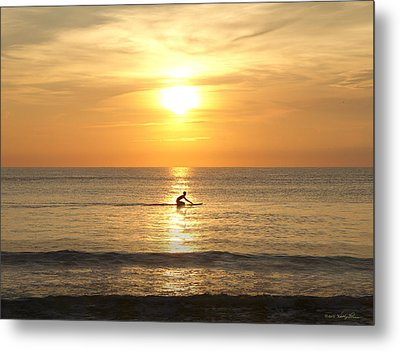 Solitude Metal Print by Kathy Ponce