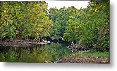 Metal Print featuring the photograph Solitude by Linda Brown