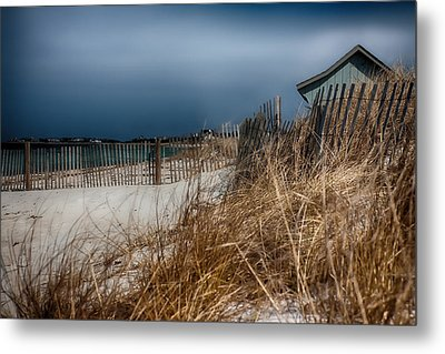 Solitude On The Cape Metal Print by Jeff Folger