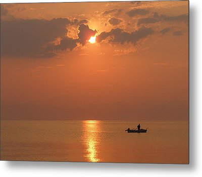 Solitude Metal Print by Tamyra Crossley
