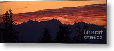 Solstice Sunset II Metal Print