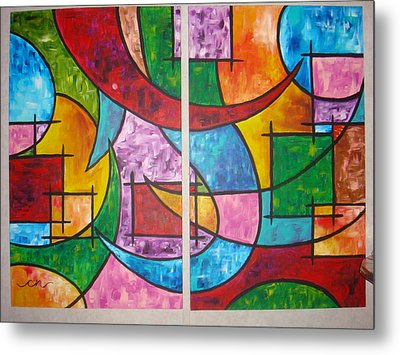Solution To Sanity Metal Print by Catherine Nichols
