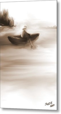 Some Alone Time Metal Print