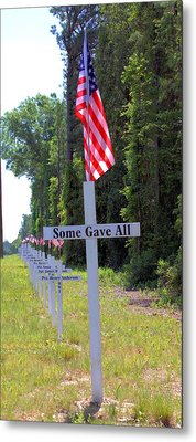 Metal Print featuring the photograph Some Gave All by Gordon Elwell