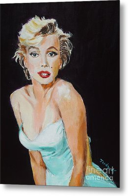Metal Print featuring the painting Some Like It Hot by Judy Kay