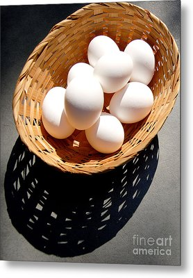 Some Of Our Eggs Metal Print