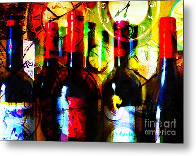 Some Things Get Better With Time Metal Print by Wingsdomain Art and Photography