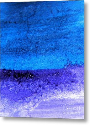 Something Blue Metal Print by Andrea Anderegg