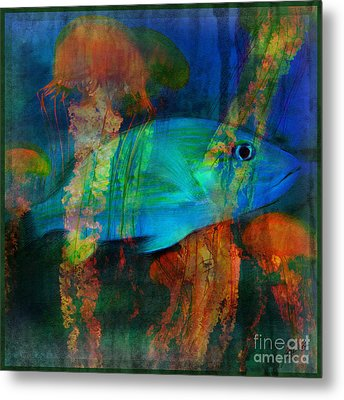Something Fishy Metal Print