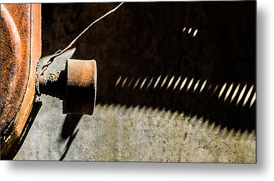 Metal Print featuring the photograph Something Old - Abstract by Steven Milner