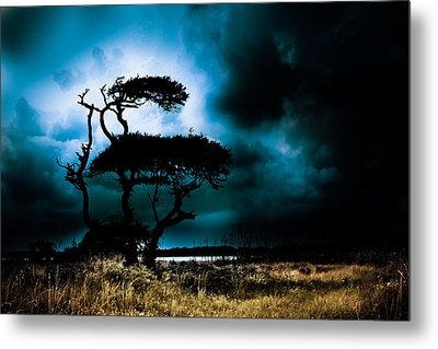 Something Wicked This Way Comes Metal Print by Shane Holsclaw