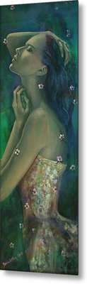 Sometimes I Feel So Temporary... Metal Print by Dorina  Costras