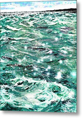 Somewhere Beyond The Sea Metal Print