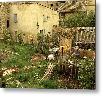 Metal Print featuring the photograph Somewhere In France by Colleen Williams