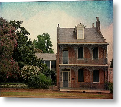 Somewhere In Natchez Metal Print by Terry Eve Tanner