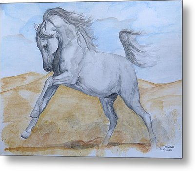 Son Of The Desert Metal Print by Janina  Suuronen