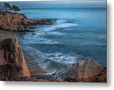 Song At The End Of Day--- Shell Beach Metal Print