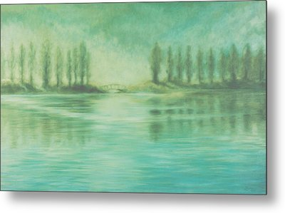Song For Monet Metal Print by Laurie Stewart