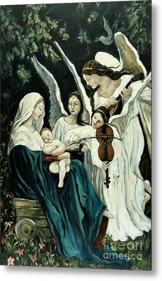 Song Of The Angels Metal Print by Carrie Joy Byrnes