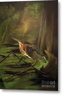 Song Of The Everglades Metal Print by Sharon Burger