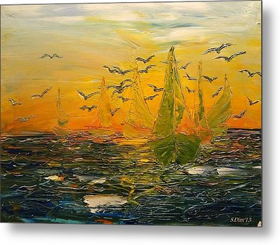 Song Of The Wind Metal Print by Svetla Dimitrova