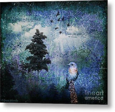 Songbird Metal Print by Lianne Schneider