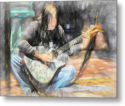 Songs From The Street Metal Print