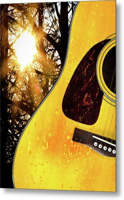 Songs From The Wood Metal Print by Bob Orsillo