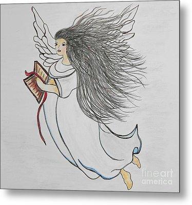 Songs Of Angels Metal Print by Eloise Schneider